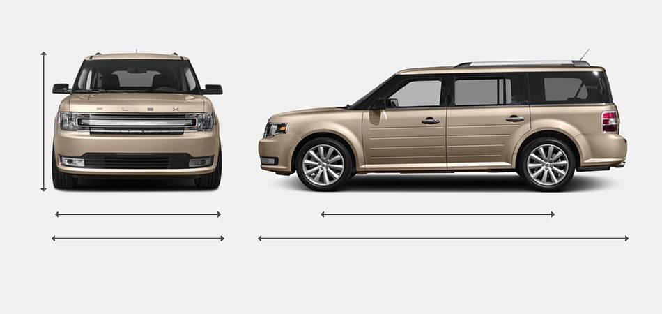 2017 Ford Flex Exterior Dimensions
