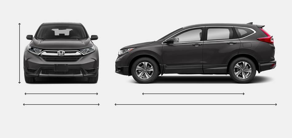 2019 Honda CR-V Exterior Dimensions