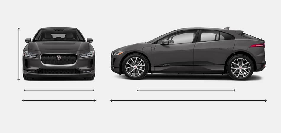 2019 Jaguar I-PACE Exterior Dimensions