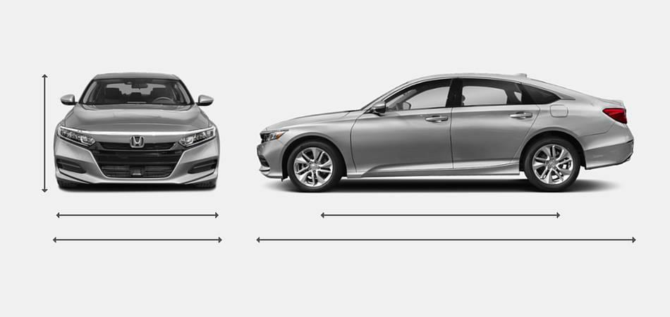 2019 Honda Accord Sedan Exterior Dimensions