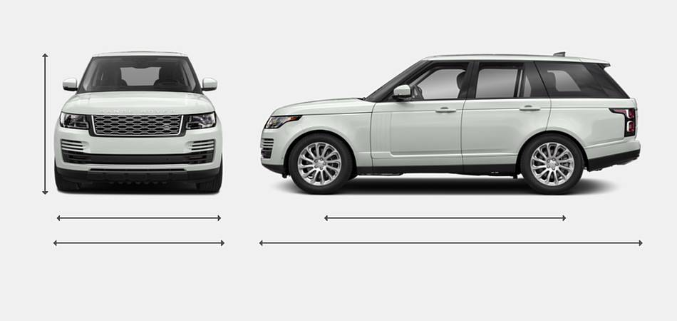 2018 Land Rover Range Rover SV Autobiography Dynamic Exterior Dimensions