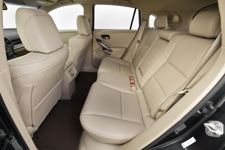 Acura RDX 4dr SUV Rear Interior (2013 model year shown)