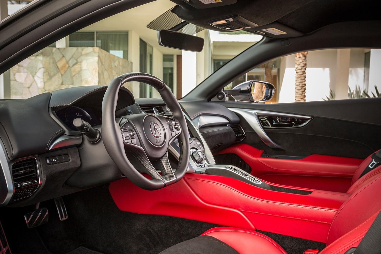 2017 Acura NSX Base Coupe Interior