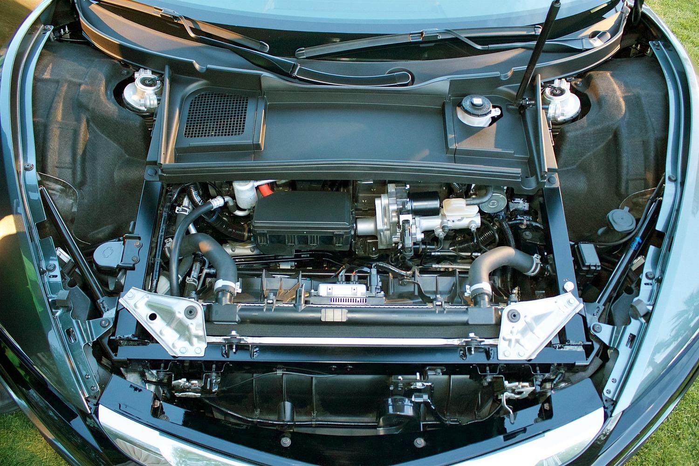 2017 Acura NSX Base Coupe 3.5L V6 Gas/Electric Hybrid Turbo Engine