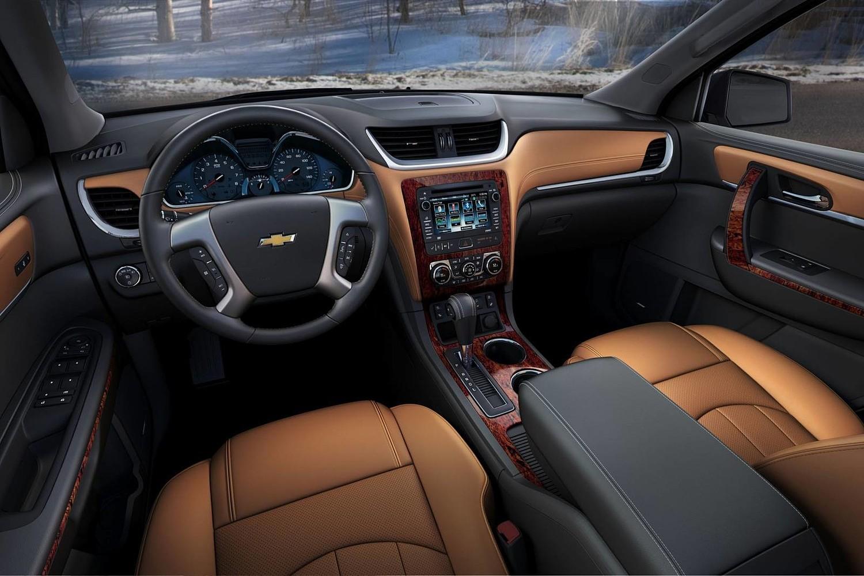 Chevrolet Traverse LTZ 4dr SUV Interior (2013 model year shown)