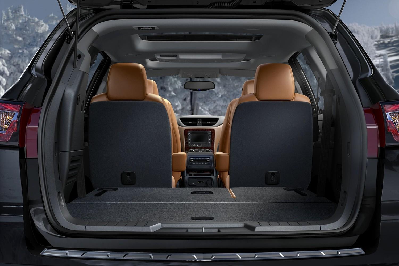 Chevrolet Traverse LTZ 4dr SUV Cargo Area (2013 model year shown)