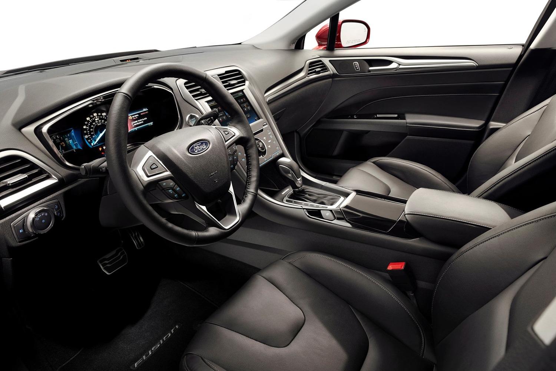 Ford Fusion Titanium Sedan Interior (2013 model year shown)