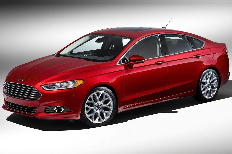 Ford Fusion Titanium Sedan Exterior (2013 model year shown)