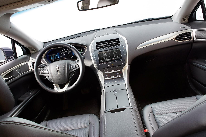Lincoln Mkz Hybrid Sedan Interior 2017 Model Year Shown