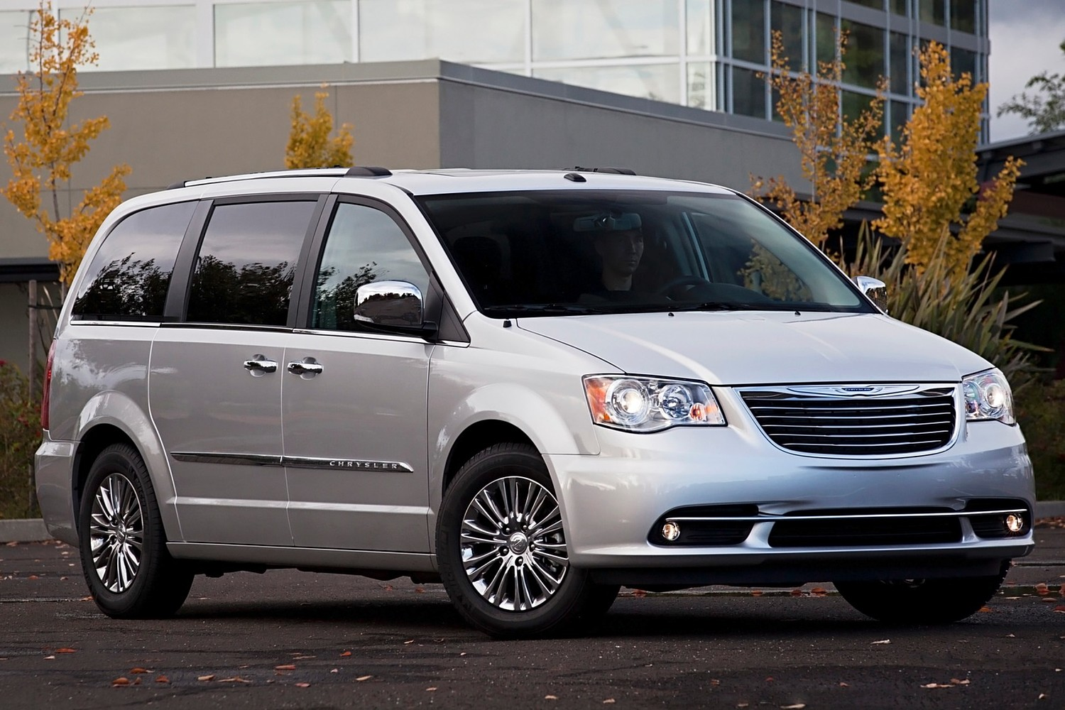 Chrysler Town and Country Limited Passenger Minivan Exterior (2013 model year shown)
