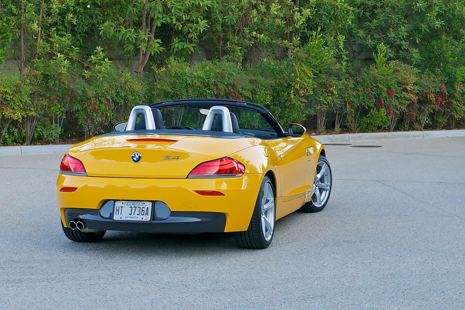 BMW Z4 sDrive28i Convertible Exterior (2012 model year shown)