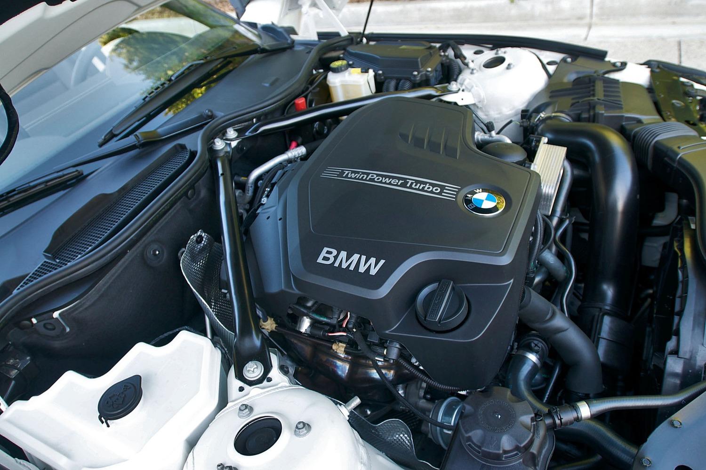 BMW Z4 sDrive28i 2.0L Turbocharged I4 Engine (2012 model year shown)