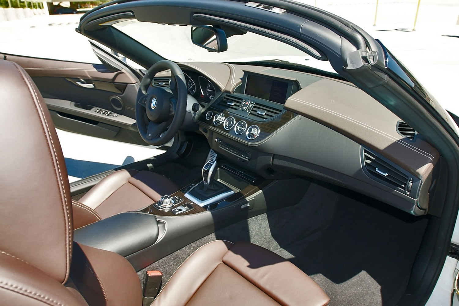 BMW Z4 sDrive28i Convertible Interior (2012 model year shown)