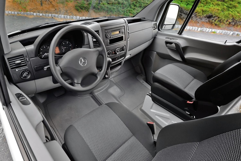 Mercedes-Benz Sprinter 2500 144 WB Crew Passenger Van Interior (2013 model year shown)