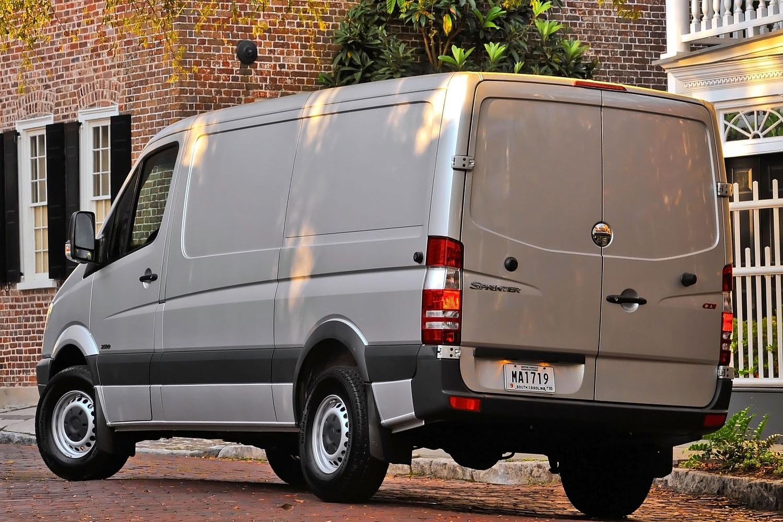 Mercedes-Benz Sprinter 2500 144 WB Cargo Cargo Van Exterior (2013 model year shown)