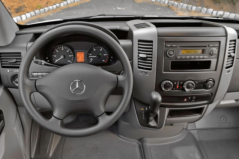 Mercedes-Benz Sprinter 2500 144 WB Crew Passenger Van Dashboard (2013 model year shown)