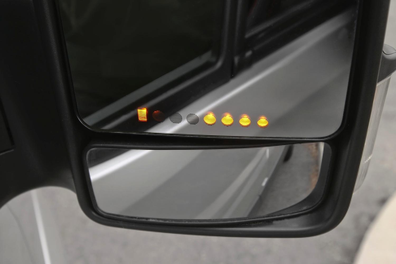 Mercedes-Benz Sprinter 2500 144 WB Passenger Passenger Van Interior Detail (2013 model year shown)
