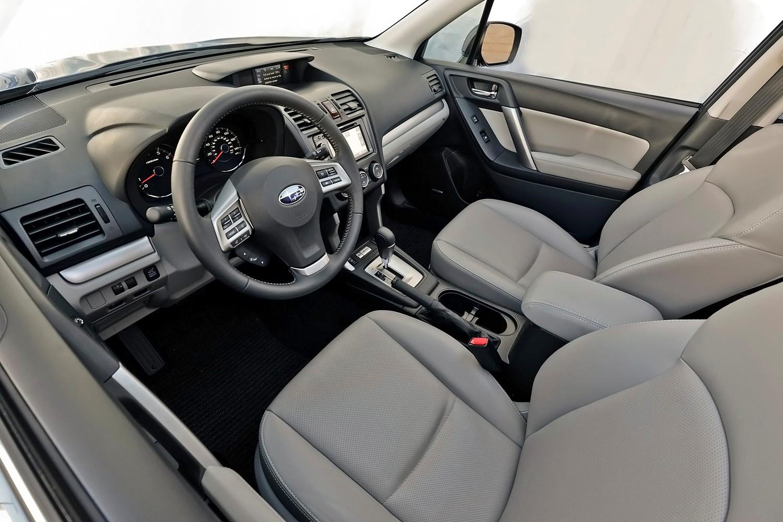 Subaru Forester 2.5i Premium PZEV 4dr SUV Interior (2014 model year shown)