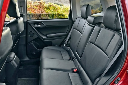 2015 Forester - Second Row