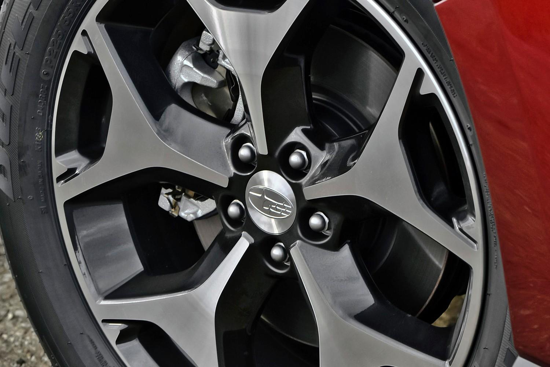 Subaru Forester 2.0XT Premium 4dr SUV Wheel (2014 model year shown)