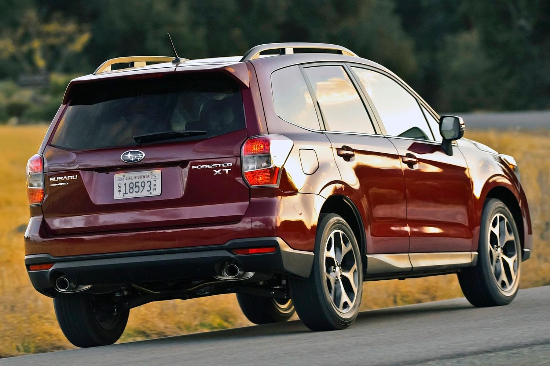 Subaru Forester 2.0XT Premium 4dr SUV Exterior (2014 model year shown)