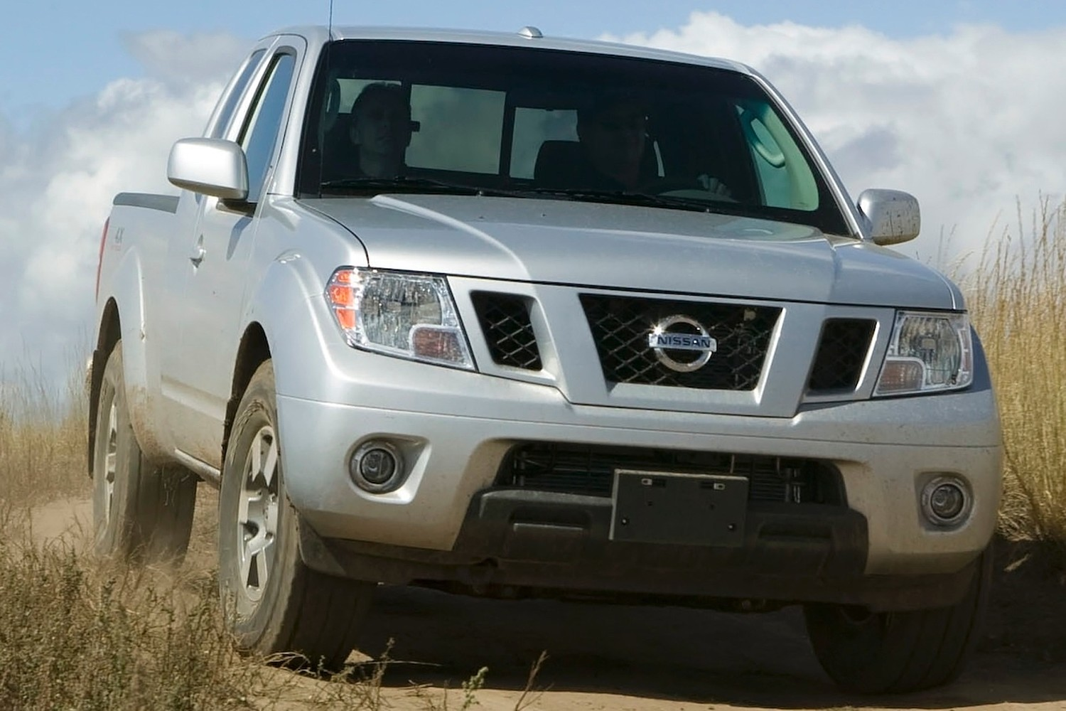 Nissan Frontier PRO-4X Extended Cab Pickup Exterior (2013 model year shown)