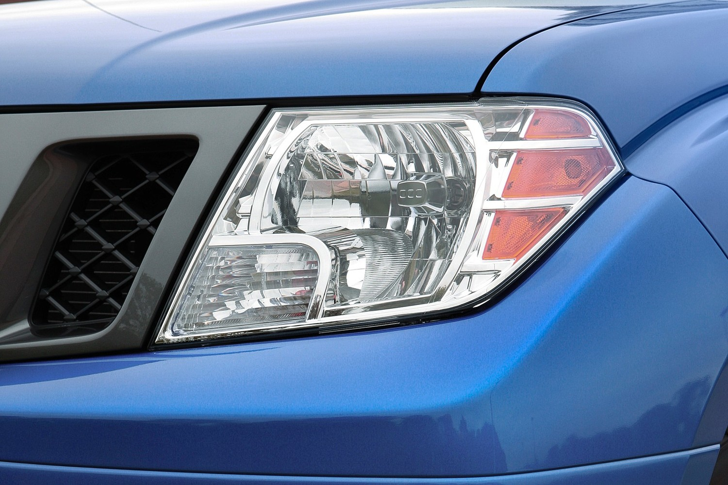 Nissan Frontier Headlamp Detail (2013 model year shown)