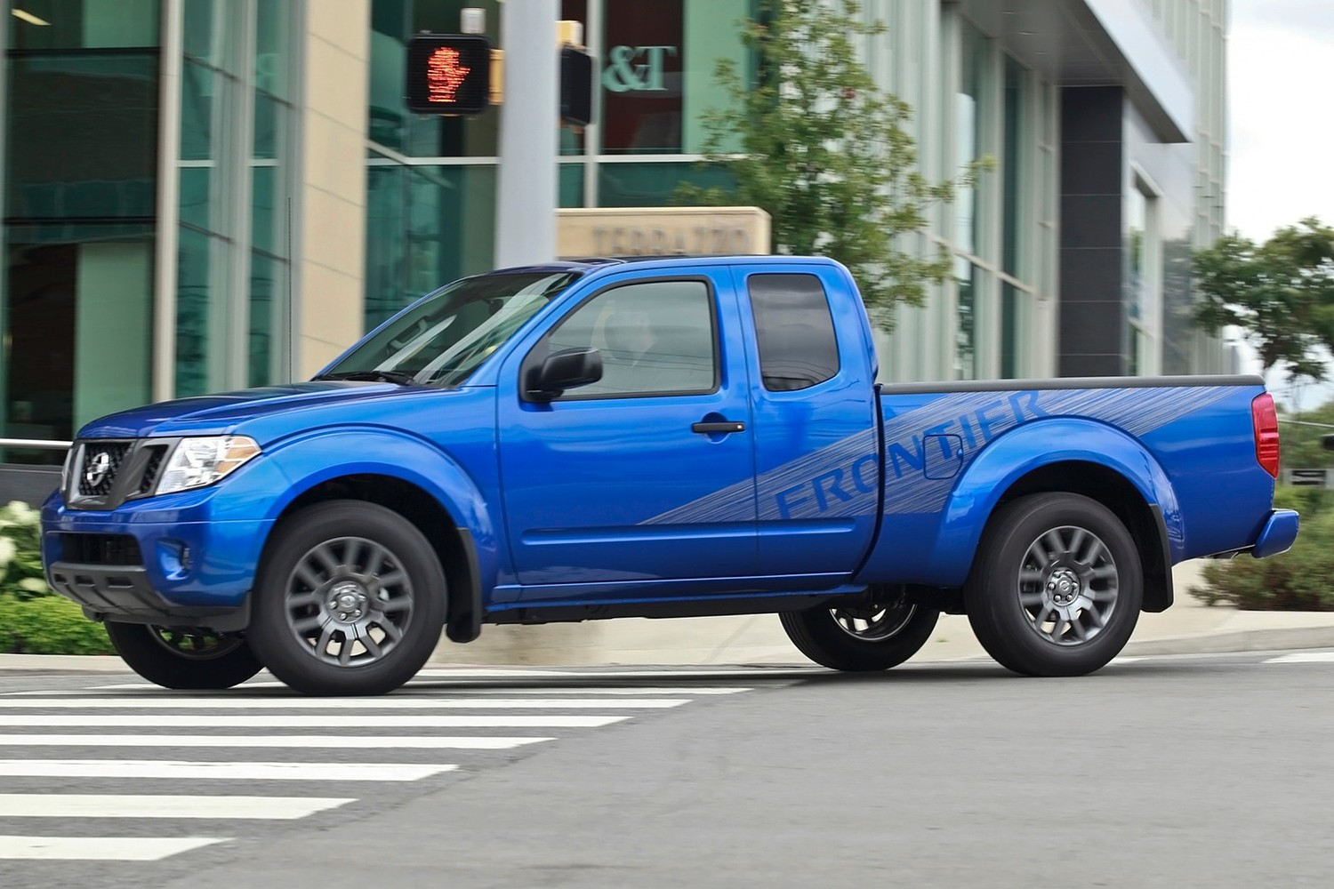 Nissan Frontier SV Extended Cab Pickup Exterior (2013 model year shown)
