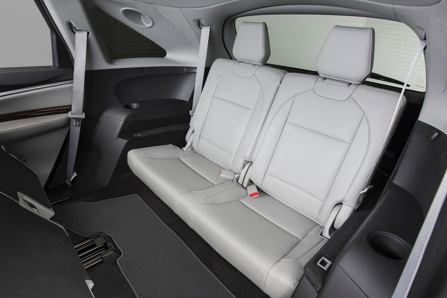 Acura MDX SH-AWD w/Technology and Entertainment Packages 4dr SUV Rear Interior (2014 model year shown)