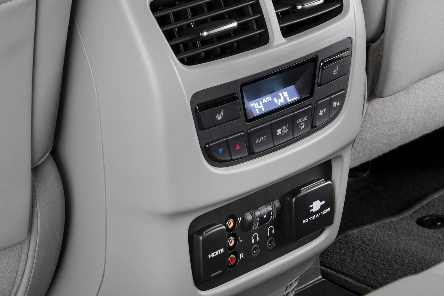 Acura MDX SH-AWD w/Technology and Entertainment Packages 4dr SUV Interior Detail (2014 model year shown)