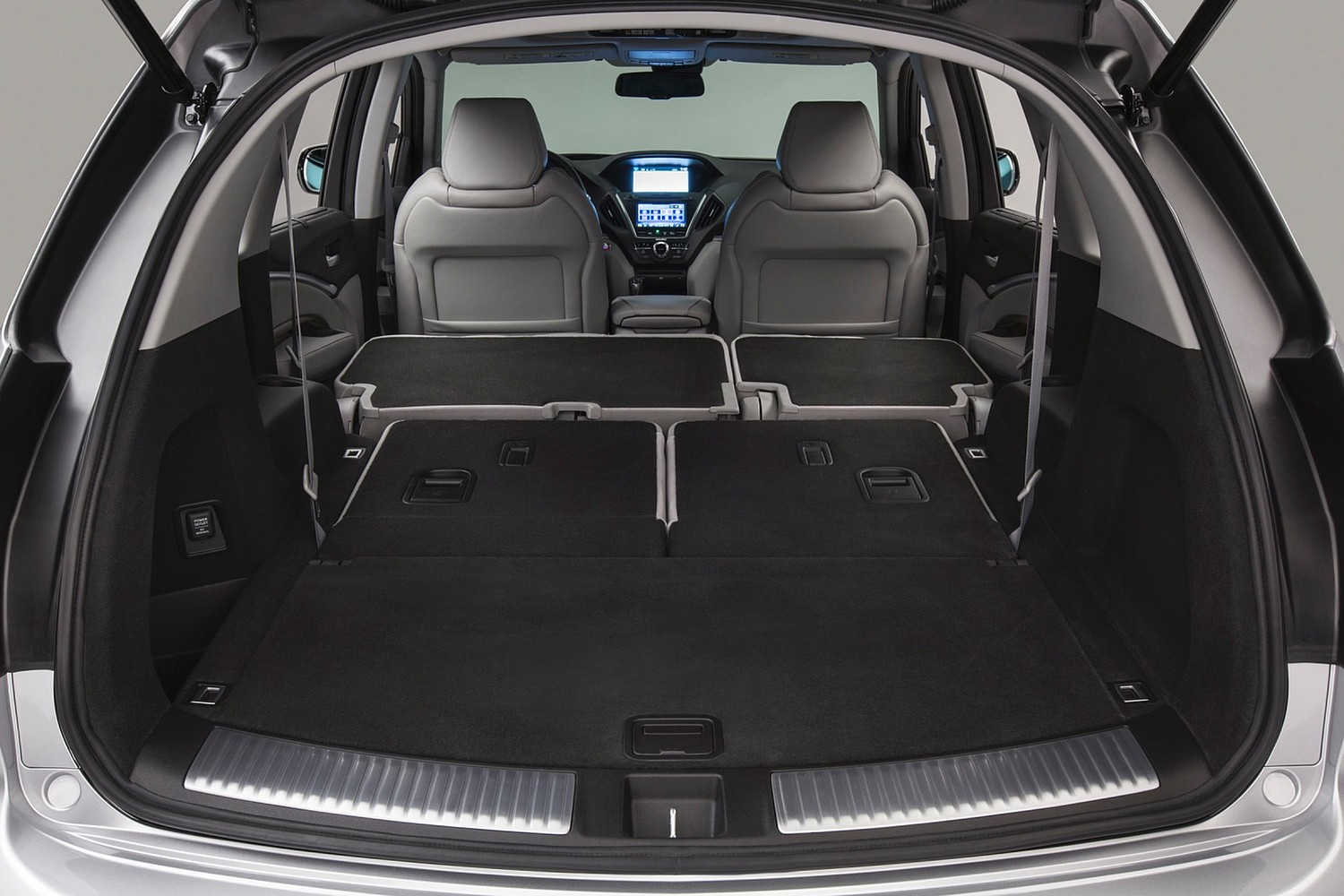 Acura MDX SH-AWD w/Technology and Entertainment Packages 4dr SUV Cargo Area (2014 model year shown)