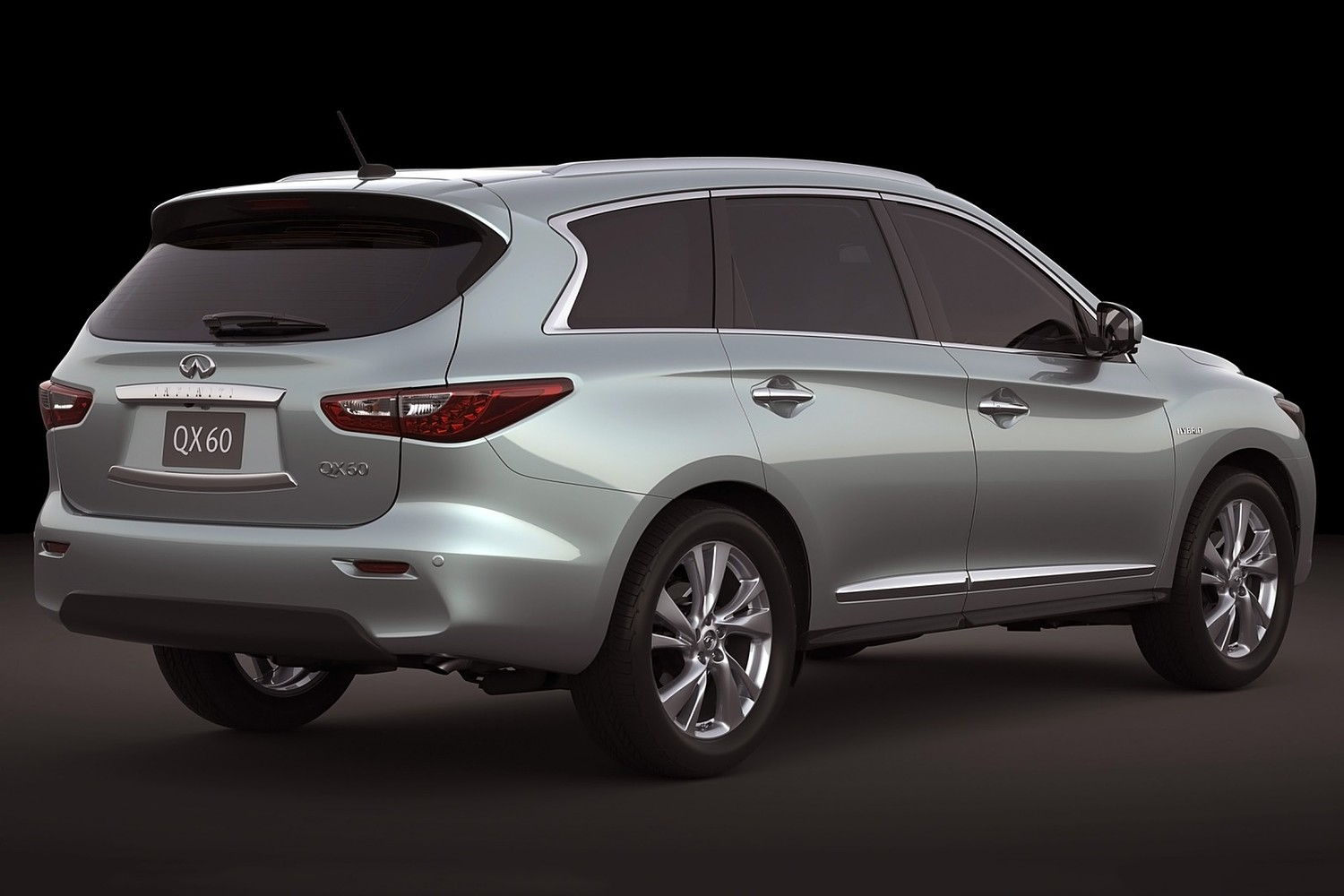 Infiniti Qx60 Hybrid 4dr Suv Exterior 2017 Model Year Shown