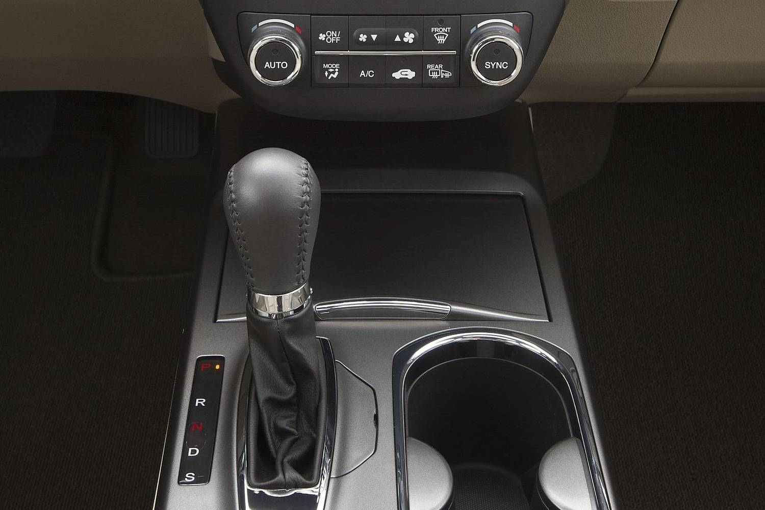 Acura RDX 4dr SUV Shifter (2014 model year shown)
