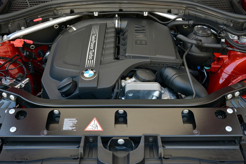 BMW X4 xDrive35i 4dr SUV 3.0L V6 Engine (2015 model year shown)