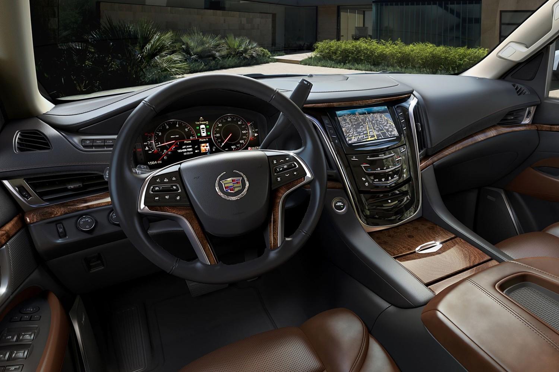 2015 Cadillac Escalade Premium 4dr SUV Interior