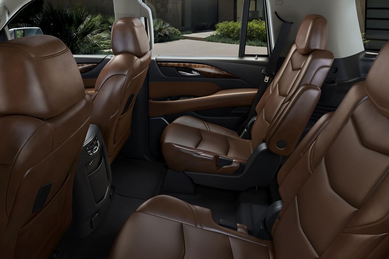 2015 Cadillac Escalade Premium 4dr SUV Rear Interior