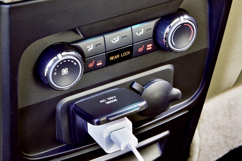 Ford Flex Limited Wagon Rear Interior Detail (2014 model year shown)