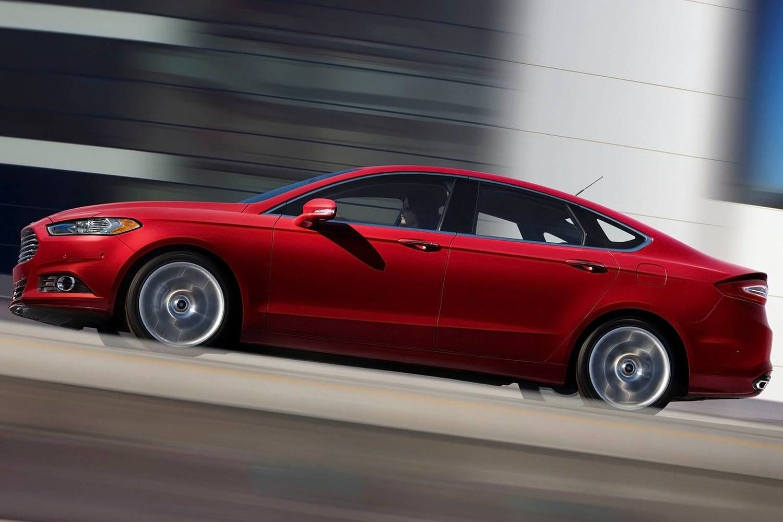 Ford Fusion Titanium Sedan Exterior (2014 model year shown)