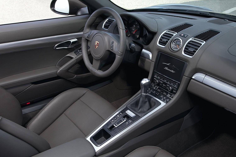 Porsche Boxster S Convertible Interior (2014 model year shown)