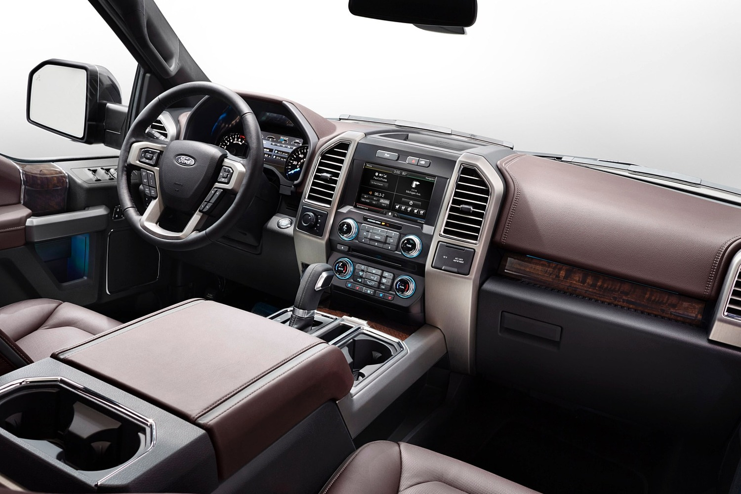 2015 Ford F-150 Platinum Crew Cab Pickup Interior