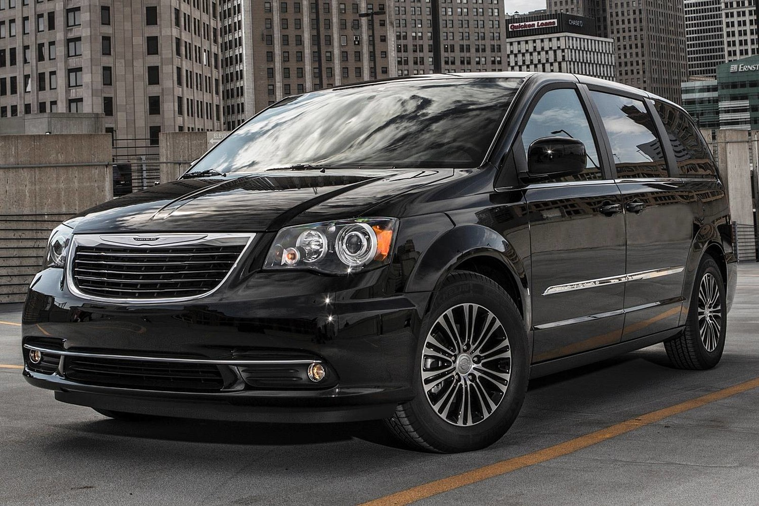 Chrysler Town and Country S Passenger Minivan Exterior (2013 model year shown)