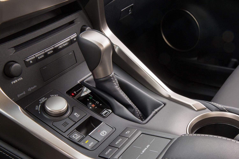 Lexus NX 200t 4dr SUV Shifter (2015 model year shown)