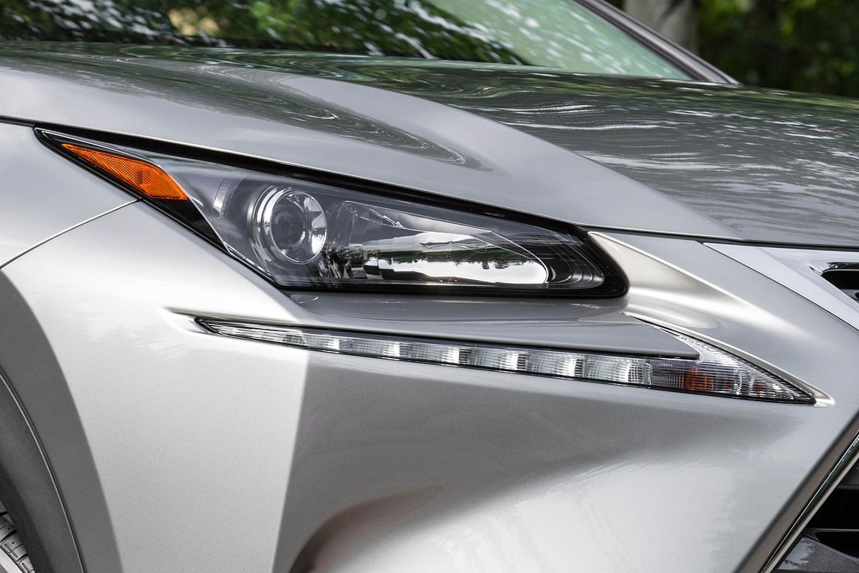 Lexus NX 200t 4dr SUV Headlamp Detail (2015 model year shown)