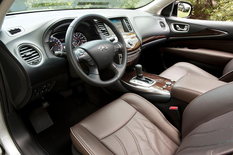 Infiniti QX60 4dr SUV Interior (2014 model year shown)