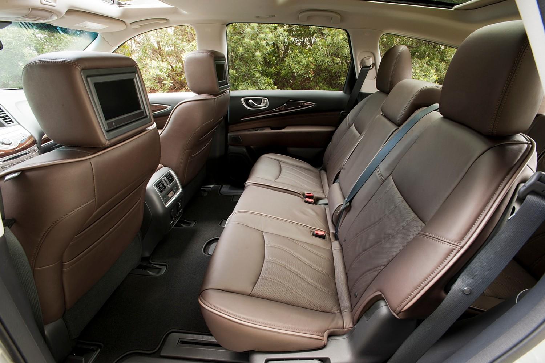 Infiniti QX60 4dr SUV Rear Interior (2014 model year shown)