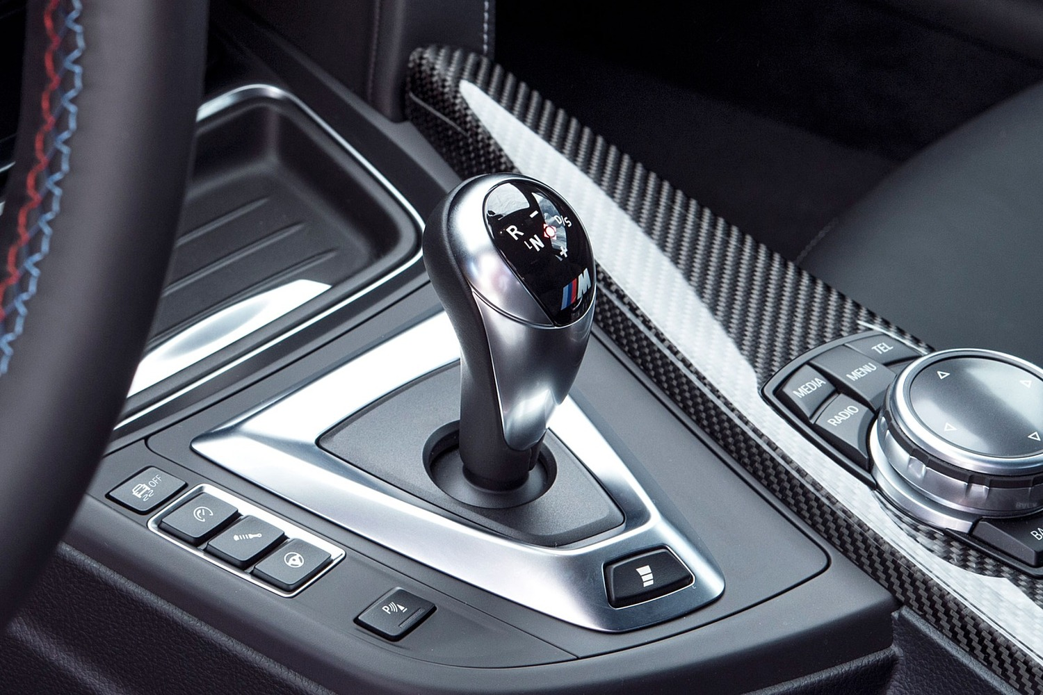 BMW M4 Coupe Shifter (2015 model year shown)