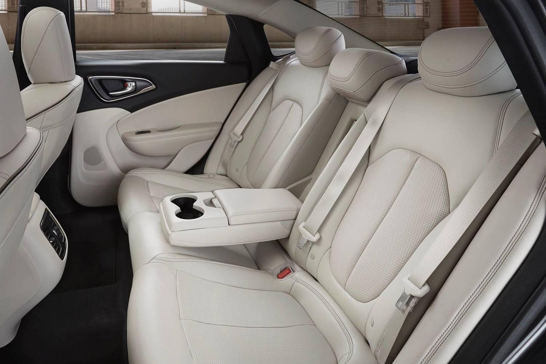 2015 Chrysler 200 C Sedan Rear Interior
