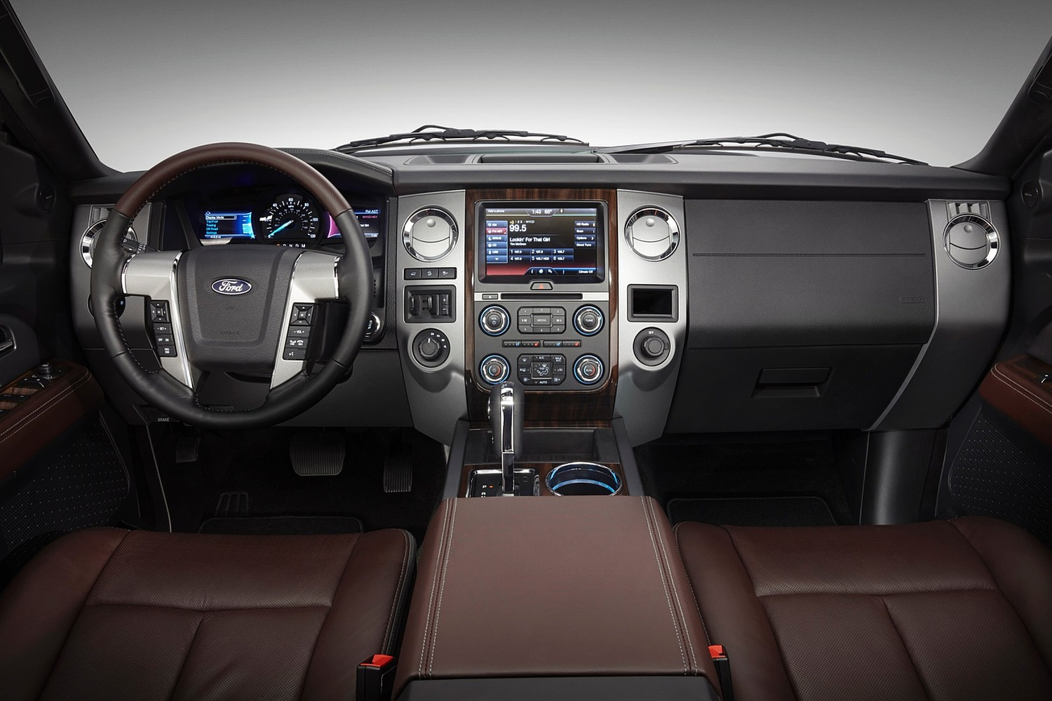 Ford Expedition Platinum 4dr SUV Dashboard (2015 model year shown)