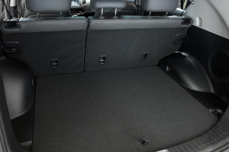 Kia Sportage EX 4dr SUV Cargo Area Shown (2014 model year shown)