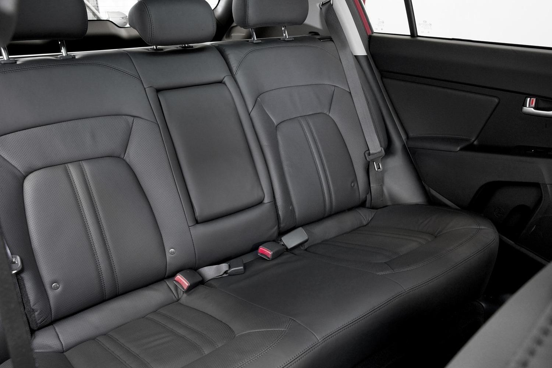 Kia Sportage EX 4dr SUV Rear Interior Shown (2014 model year shown)